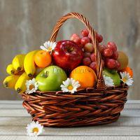Лучший подарок - фруктовая корзина