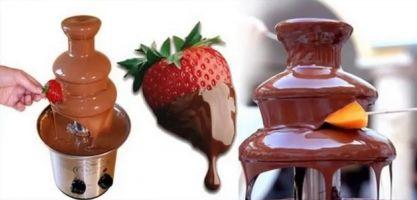Шоколадный фонтан и все, что с ним связано