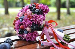 Букет невесты – вкусное настроение!