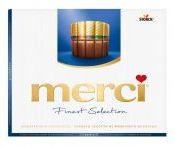 Конфеты шоколадные Merci 250 гр
