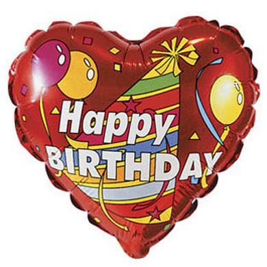 """Шарик """"Happy Birthday"""""""