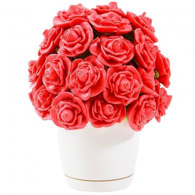 Букет из  марципановых роз