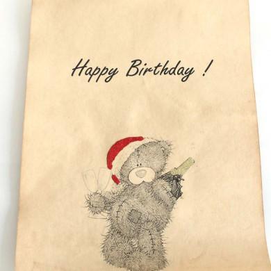 """Открытка №1 """"Happy Birthday"""""""