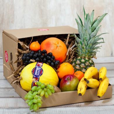 """Фруктовая коробка """"Дыня и ананас"""""""
