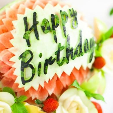 "Арбуз ""Happy Birthday"""