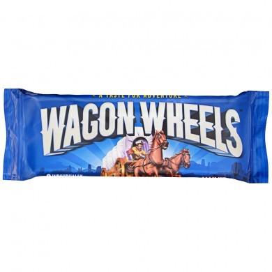 Печенье Wagon Wheels суфле с джемом, 228 г