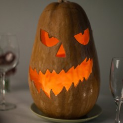"""Тыква на Хэллоуин """"Пугало"""""""