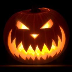 """Тыква на Хэллоуин """"Бугимен"""""""