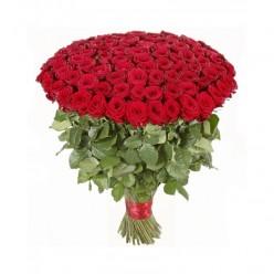 100 красных роз