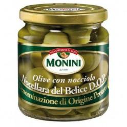 Оливки Monini, с косточкой, 300 г