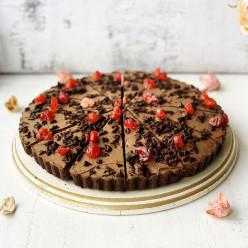 Торт Шоколадно-вишнёвый